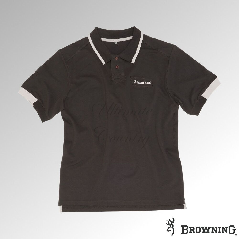 Browning Shirt Polo Ultra Anthracite (30190691xx) - SPECIAL PRICE