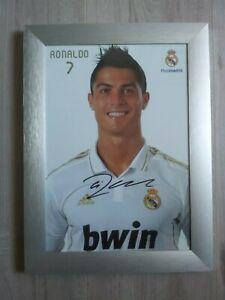Autogrammkarte *CHICHARITO//RONALDO//BALE//KROOS//RAMOS* Real Madrid 14//15 2014//2015