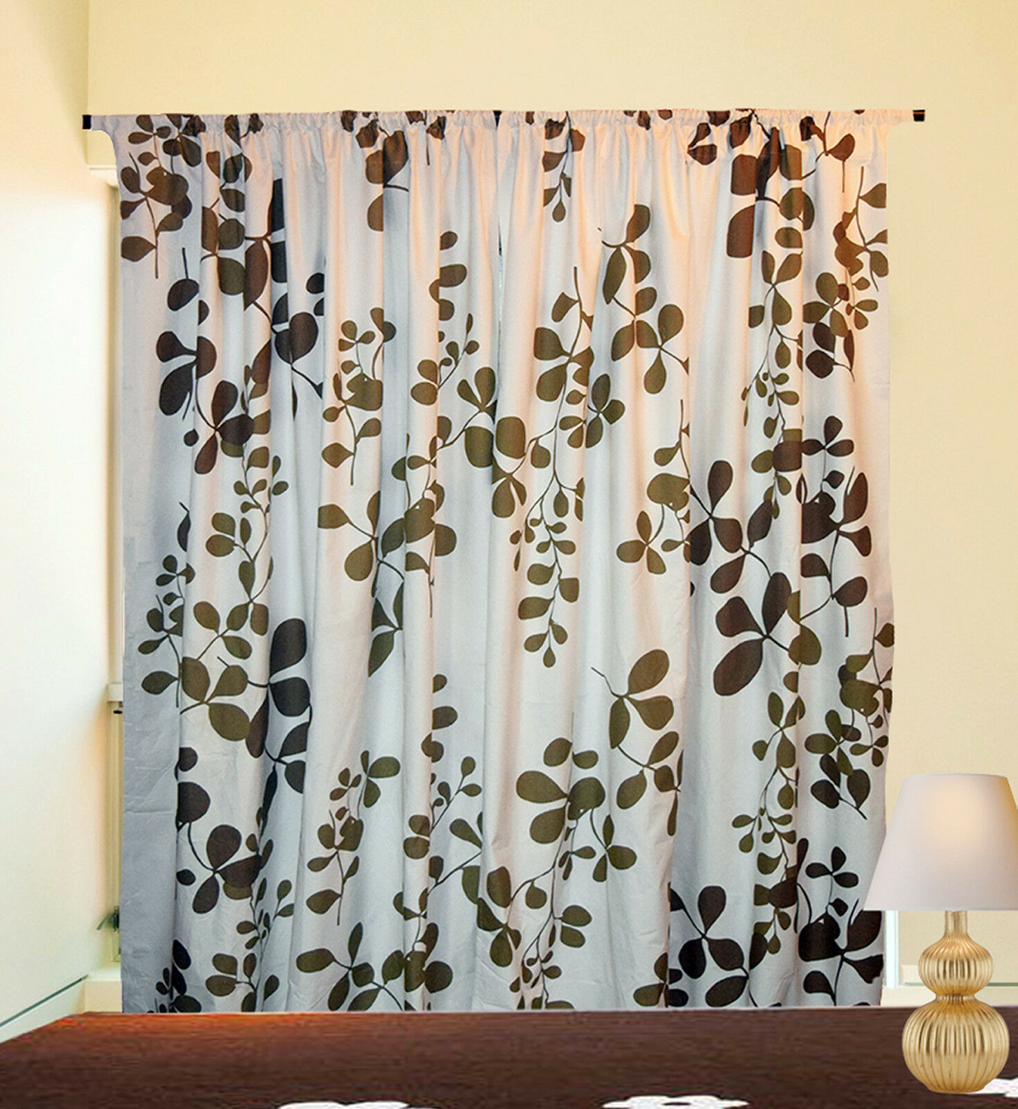 skylinewears blackout thermal insulated rod pocket window door curtain one panel ebay. Black Bedroom Furniture Sets. Home Design Ideas