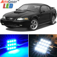 11 x Premium Blue LED Lights Interior Package for 1994-2004 Ford Mustang + Tool
