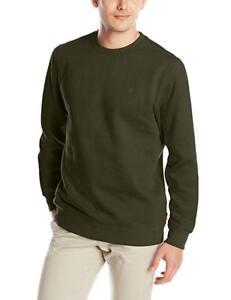 IZOD Mens Fleece Crew Sweatshirt