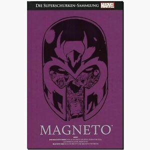 SUPERHELDEN-SAMMLUNG-PREMIUM-3-MAGNETO-Superschurken-HACHETTE-rote-X-MEN-Marvel