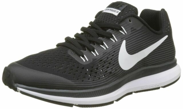 detailed look 7a1ec a0314 Nike Air Zoom Pegasus 34 GS Big Kids Shoe Black Youth Boys Size 5