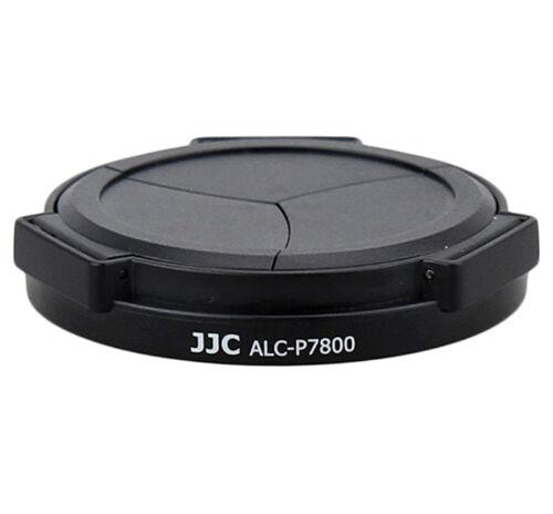 UK Tienda cameraplus ® ALC-P7800 automático Lente Tapa Para Nikon P7800 P7700-Negro