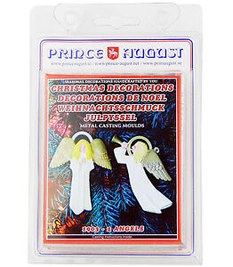 Prince Christmas Decorations.Details About Flat Christmas Tree Decorations 2 Angels Prince August Moulds Molds Pa1903