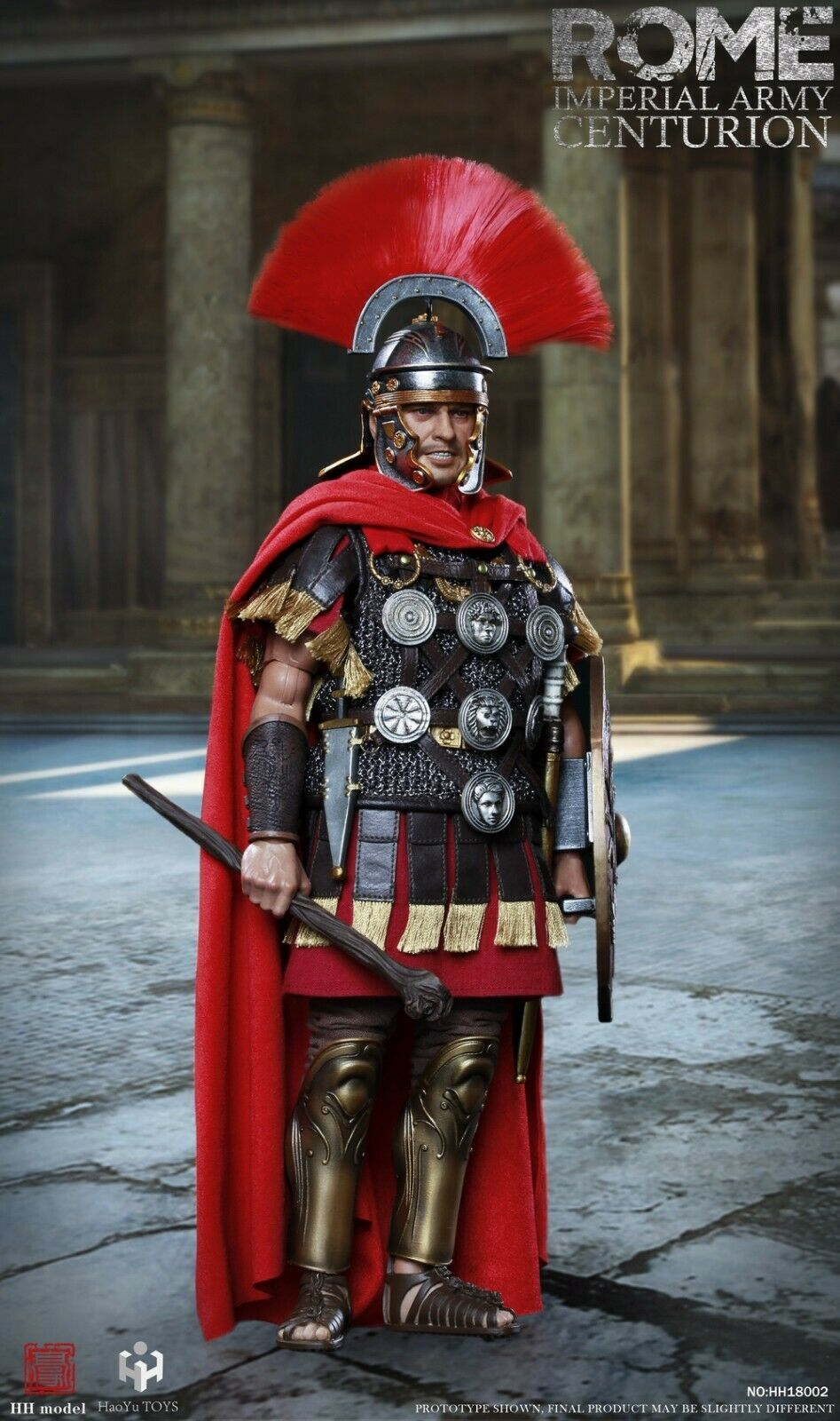 HH model & HaoYu TOYS HH18002 ROME Imperial Army Centurion 1 6 Figure