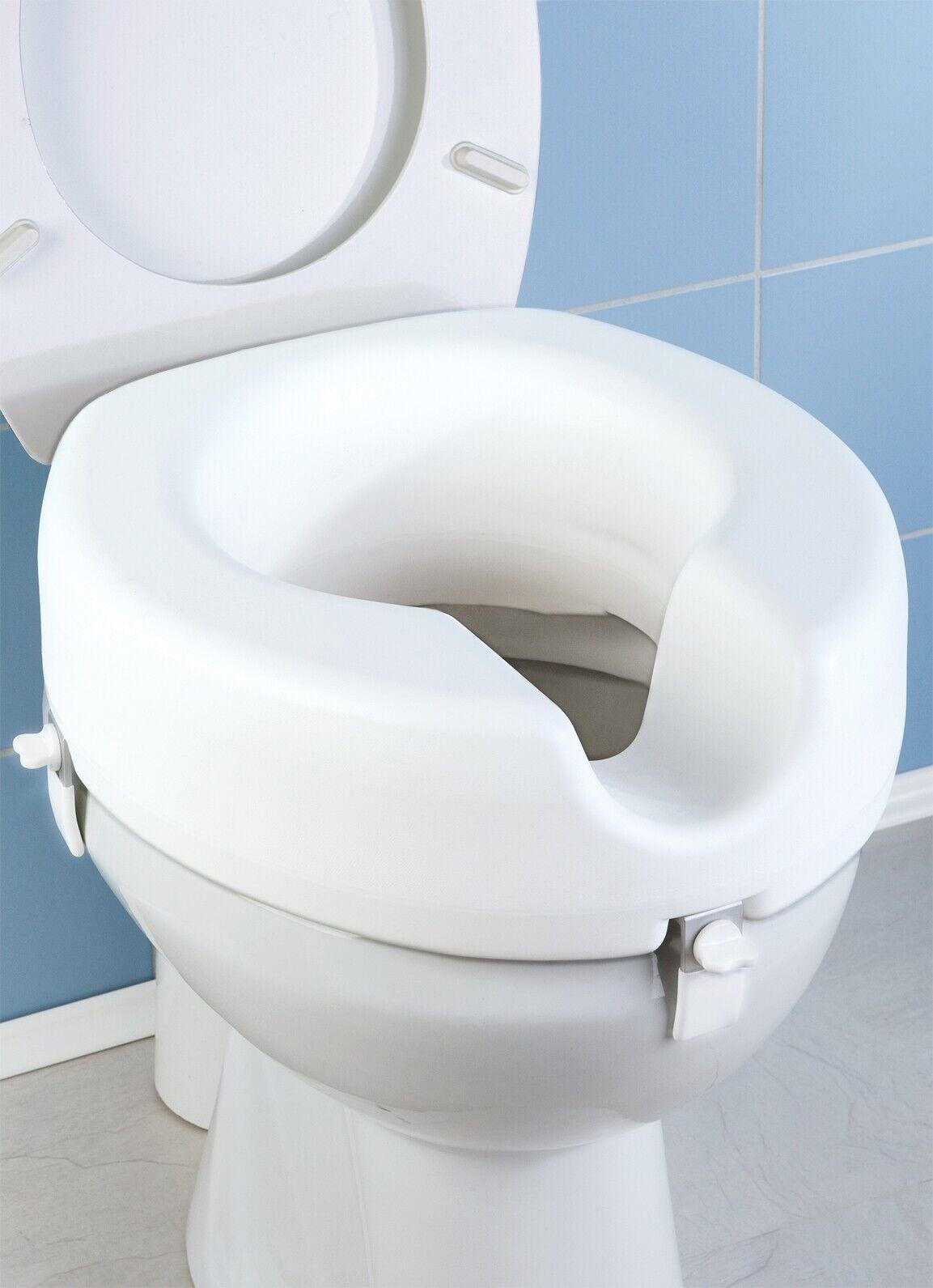 WC Sitz-Erhöhung Secura, 150 150 150 kg Tragkraft f5aeb8