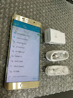 Samsung Galaxy S6 Edge Plus G928A 32GB AT&T Gold GSM Unlocked - Cracked Glass ~