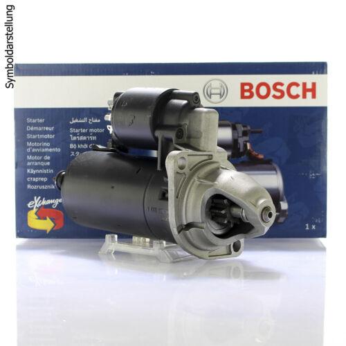 Bosch Starter démarreur démarrage installation sans consigne de 0 001 121 402