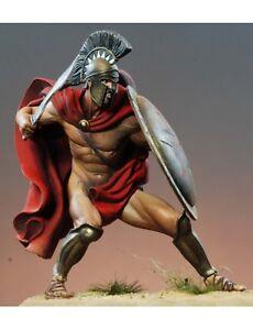 Kit 75 pièces non peintes Leonidas Spartan Hoplite King Echelle 75