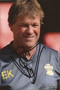 SOUTHAMPTON ERWIN KOEMAN SIGNED 6x4 ACTION PHOTOCOA -  SHROPSHIRE, United Kingdom - SOUTHAMPTON ERWIN KOEMAN SIGNED 6x4 ACTION PHOTOCOA -  SHROPSHIRE, United Kingdom
