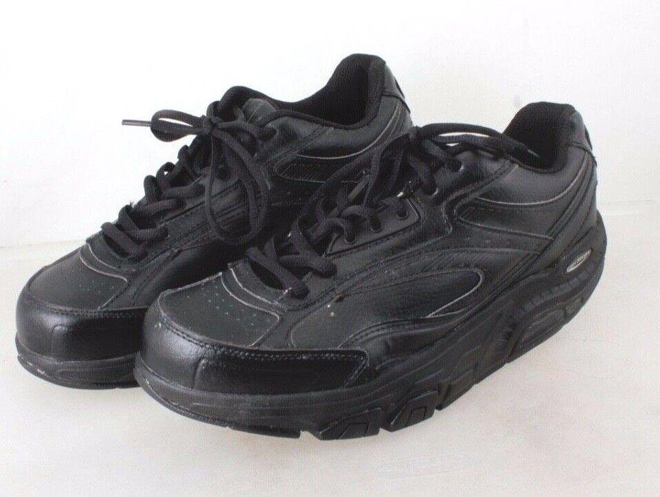 Rockport ExerSteps Black Leather Shape Up shoes Men's size 9 US 42.5 EU