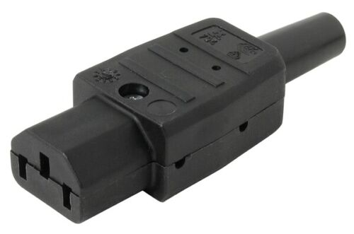 Kaltgeräte-Kupplung 10A 250V VDE