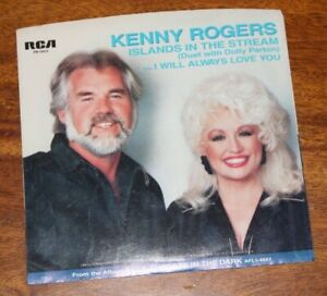 Kenny Rogers & Dolly Parton 45 RMP Islands In The Stream ...
