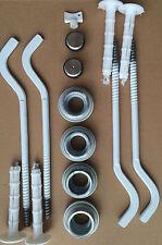 KIT DI MONTAGGIO RADIATORE in alluminio pannello 1/2 pollice ADATTATORI E STAFFE