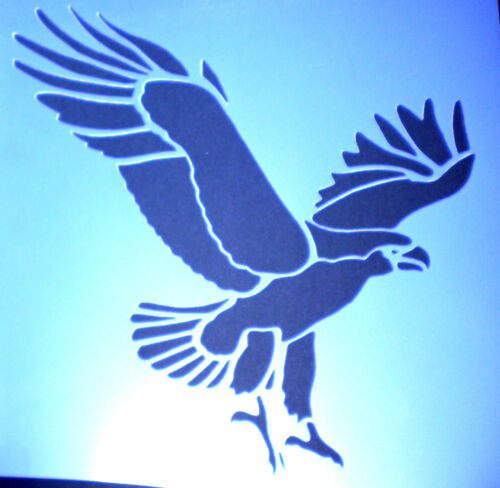 high detail airbrush stencil eagle two FREE UK  POSTAGE