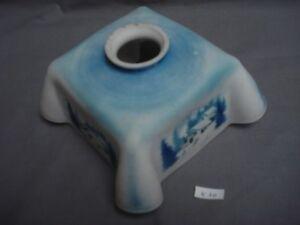 abat-jour-opaline-plie-bleu-montagne-24-6-cm-a-collerette-1930-ref-K10