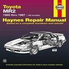 Toyota MR2, 1985-87 Owner's Workshop Manual by etc., Mike Stubblefield (Hardback, 1987)