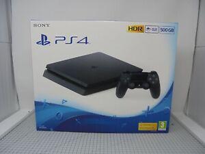 Caja-vacia-solo-Sony-Playstation-4-Slim-PS4-Consola-500GB-Slim-Negro-PS4BS