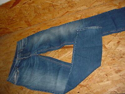 Fantastici Jeans V. Deeluxe Tg W32/l34 Blu Used Abbottonatura- Così Efficacemente Come Una Fata