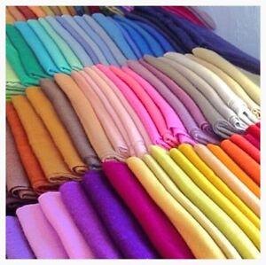 Pashmina-Scarf-100-Viscose-Plain-Wrap-Shawl-Stole-Scarf-Many-Colours-Available