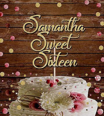 Terrific Sixteenth Birthday Party Decorations Decor Theme Sixteen Sweet 16 Personalised Birthday Cards Epsylily Jamesorg