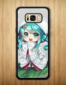 online retailer 8c816 bbab8 Details about New Hatsune Miku Anime Case Cover For Samsung Galaxy S8 S8  Plus