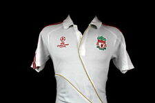 SHIRT FC LIVERPOOL ADIDAS 2009/10 TRAINING POLO CHAMPIONS LEAGUE SIZE (M)