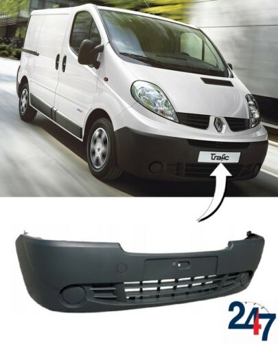NEW RENAULT TRAFIC 2006-2014 FRONT BUMPER WITHOUT FOG LIGHT HOLES