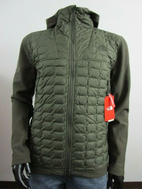 Red NWT NWT Mens TNF The North Face Thermoball Hoodie Insulated Hooded Jacket