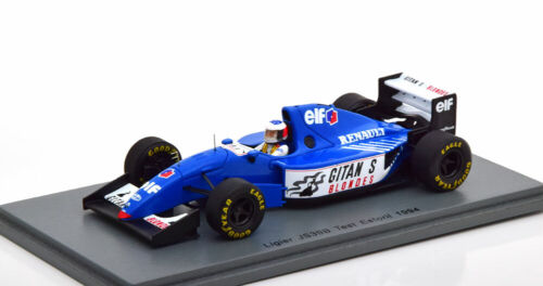 1:43 Spark Ligier JS39B F1 Test Estoril Schumacher 1994