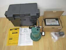 Zoeller Aquanot Spin 508 Battery Sump Pump Controller With 12 V Pump Only New