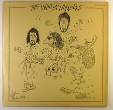 "12"" LP - The Who - The Who By Numbers - C812 - washed & cleaned"