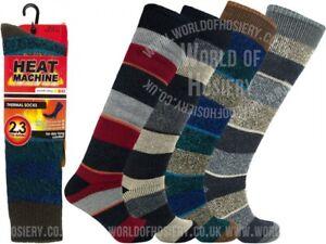 2 Mens Heat Machine® 2.3 Tog Rating Ultra Thermal Boot Work Socks UK 6-11