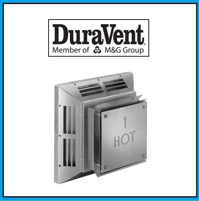 DURAVENT 4  x x x 6 5 8  DirectVent Pro Horizontal Square Termination Cap  46DVA-HC 0a69f6