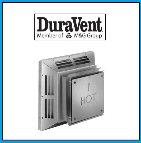 "DURAVENT 4/"" x 6 5//8/"" DirectVent Pro Horizontal Square Termination Cap #46DVA-HC"