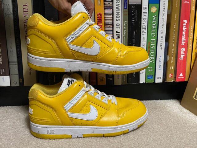 supreme nike sb air force 2 yellow
