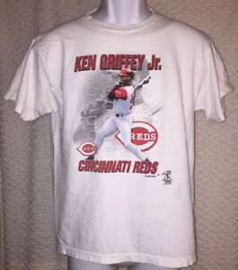 official photos 6a699 84deb Details about Ken Griffey Jr. Cincinnati Reds t-shirt size YOUTH Large by  True Fan, pre-owned