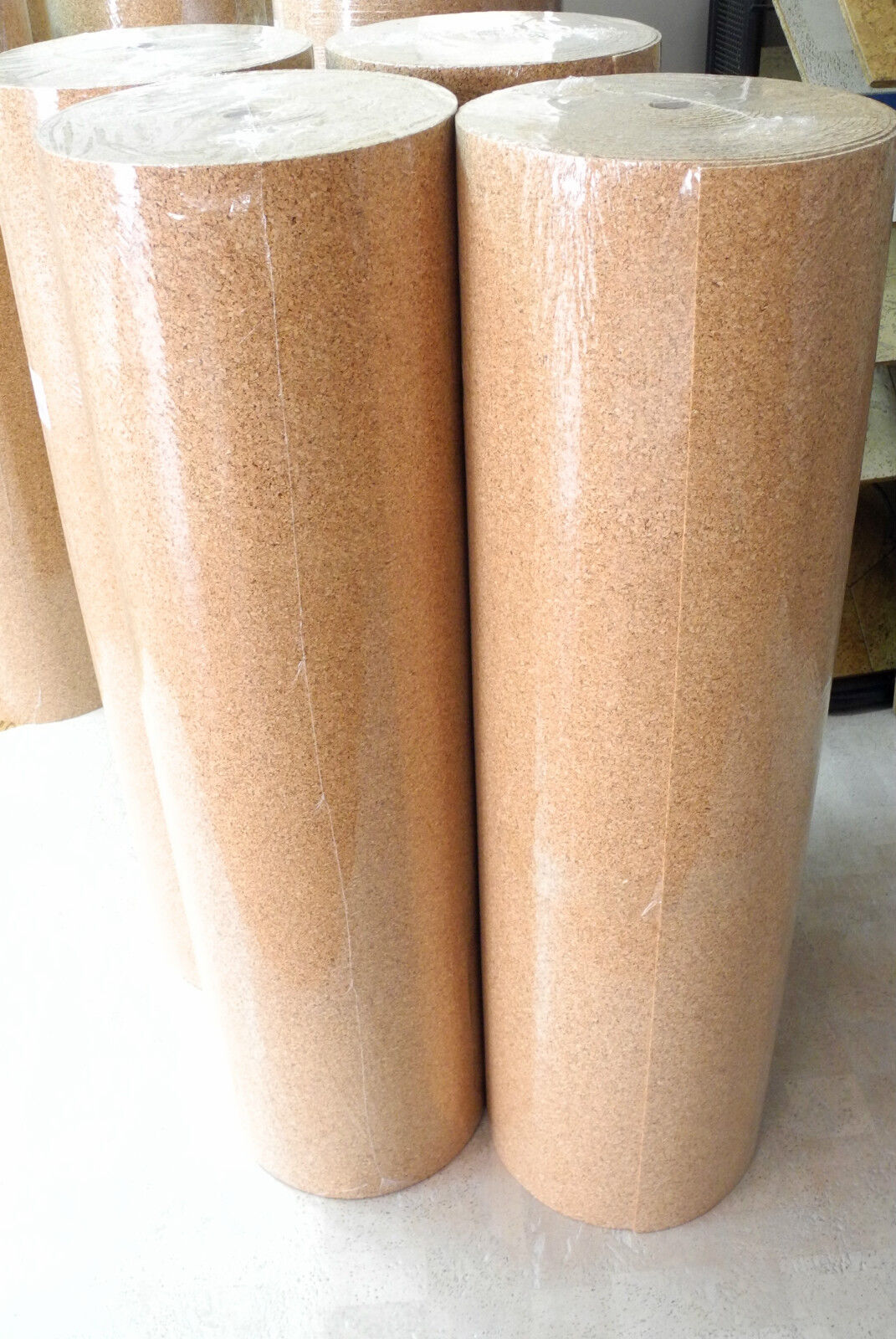 30 m² Trittschalldämmung Rollenkork  Kork  2 mm  für Holz-Parkett  Laminat