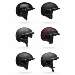 2020-Bell-Pit-Boss-Half-Shell-w-Visor-Motorcycle-Helmet-Pick-Size-amp-Color