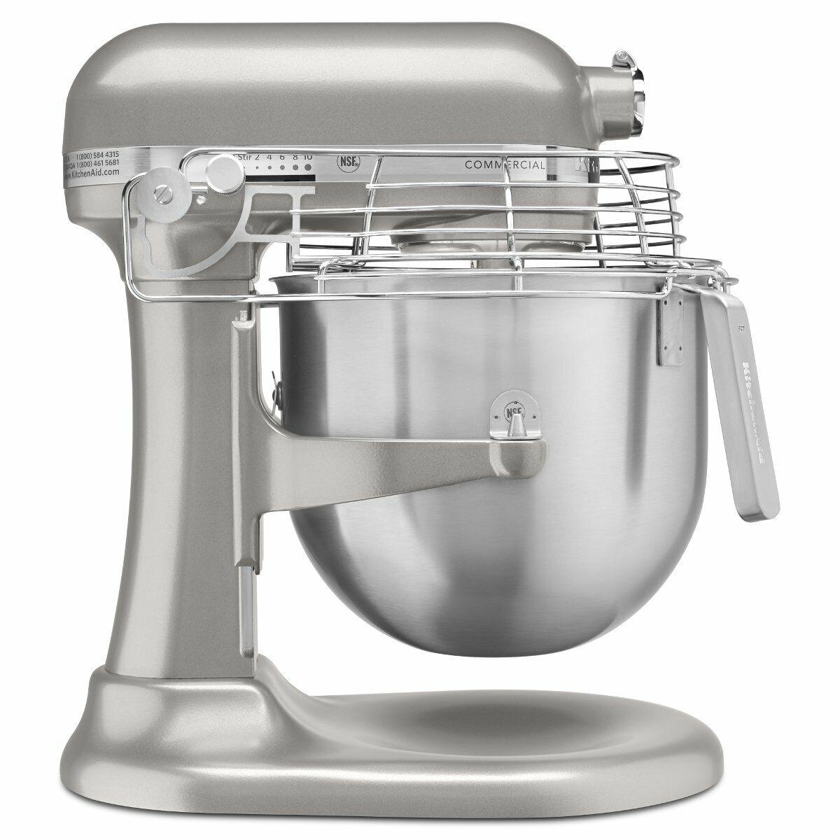 KitchenAid KSMC 895NP 8-Quart Commerciale Comptoir mixeur avec bol-Garde, vitesse 10
