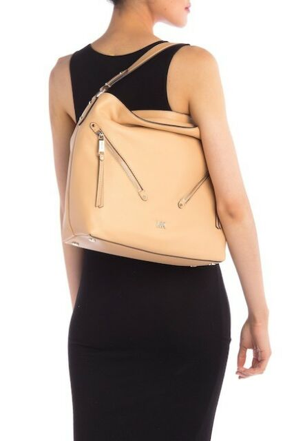 Michael Kors 30t8gzuh7l Evie Large Pebbled Leather Hobo Shoulder Bag