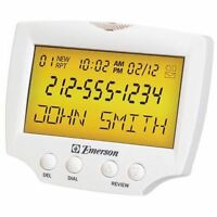 Large Display Talking Caller Id Box Sight And Hearing Impaired Low Vision, Blind