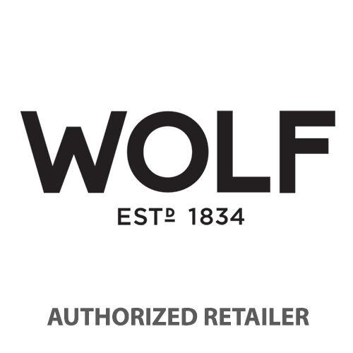 WOLF Sophia Classic Ivory Leather Jewelry Box 392053