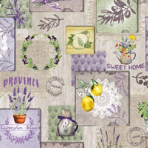 Wachstuch Tischdecke Provence Sweet Home P8044-1 eckig rund oval