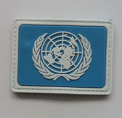 NEW UNITED NATIONS Peacekeeping troops LOGO Velcro Patch    SJK  167