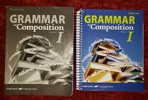 Details about Abeka 7th Grade English Grammar & Composition I Teacher Quiz  Test Key Parent Kit