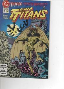 TEAM-TITANS-9-JUNE-1993-VERY-FINE