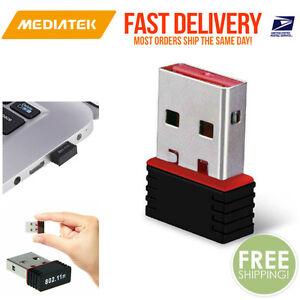 mini usb wifi wlan mediatek 150mbps wireless network adapter dongle 644747485364 ebay. Black Bedroom Furniture Sets. Home Design Ideas