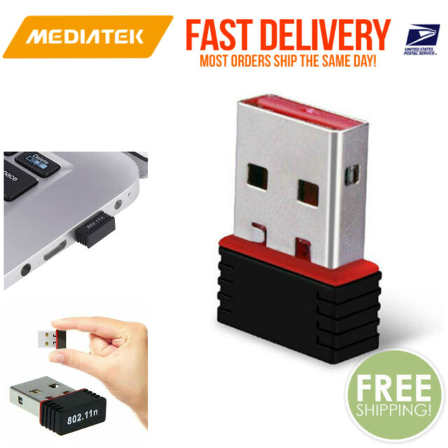 Mini USB WiFi WLAN MediaTek 150Mbps Wireless Network Adapter 802 11n/g/b  Dongle